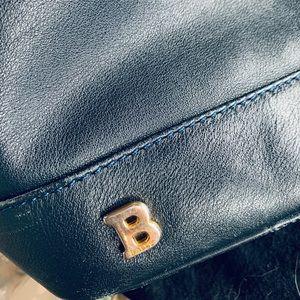 Bally of Switzerland Blue Leather Bag $600++!!